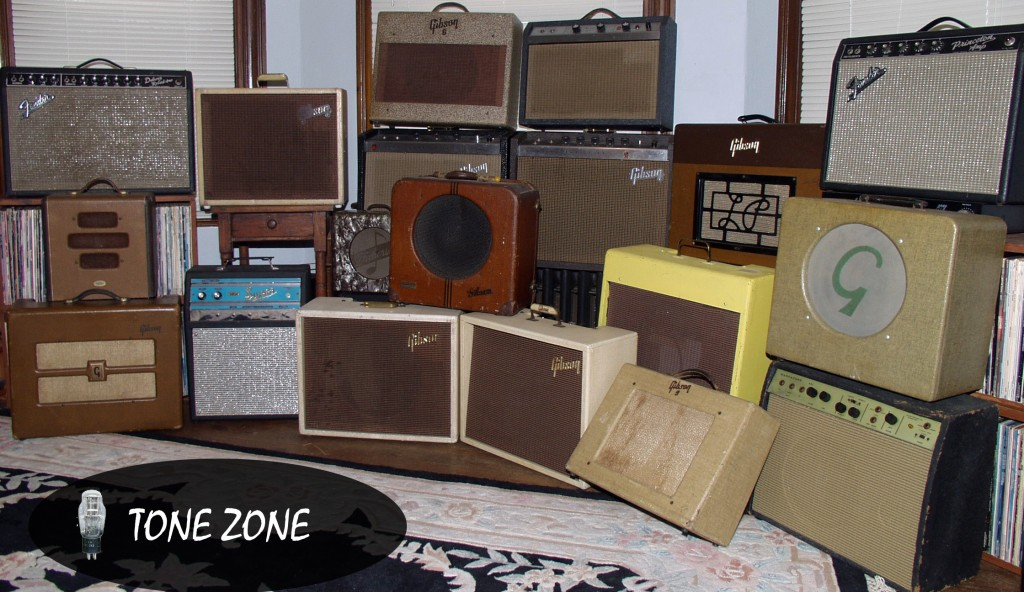 Collection of vintage guitar tube amps at valvealley.com